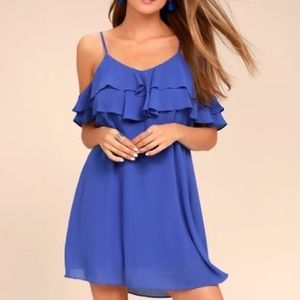 Lulus impress the best off shoulder dress NWT